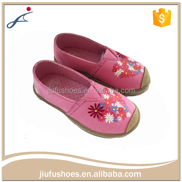 Custom Wholesale Fancy Baby Girls Wholesale Kids White Canvas Shoes