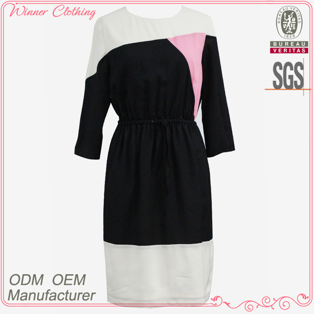 Clothing/Apparel Factory Direct New Arrivals Good Quality Colorful Panels Names Of Ladies Dresses
