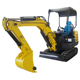 Chinese manufacture 0.8 2.2 ton crawler small digger mini excavator for sale