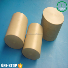 Extruded engineering customized diameter flexible round durable hard pps plastic solid bar rod