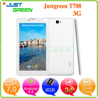 Justgreen T-708 7 inch 5 Point Touch Capacitive Screen Tablet PC