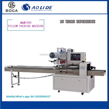 With track electric eye Milk Bread pillow packing machinery