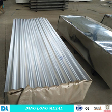 Sheet Roll Forming Machine Galvanized Corrugated Steel Sheet with High Zinc Coat