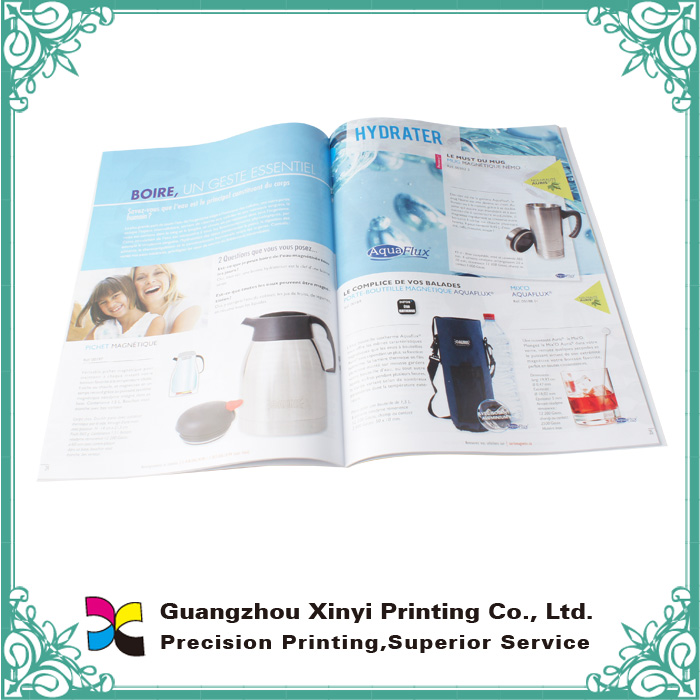 Softcover Magazine Book Printing, Varnishing, Glossy, Matte Lamination