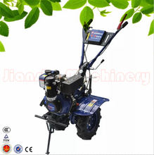 Garden hand push cultivator JS1Z-135A with potato peanut harvester