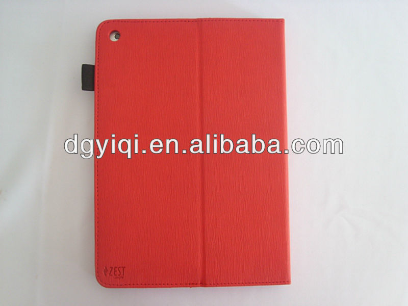 LC-02 High quality PU stander leather cover case for Apple ipad 5/4/3/2