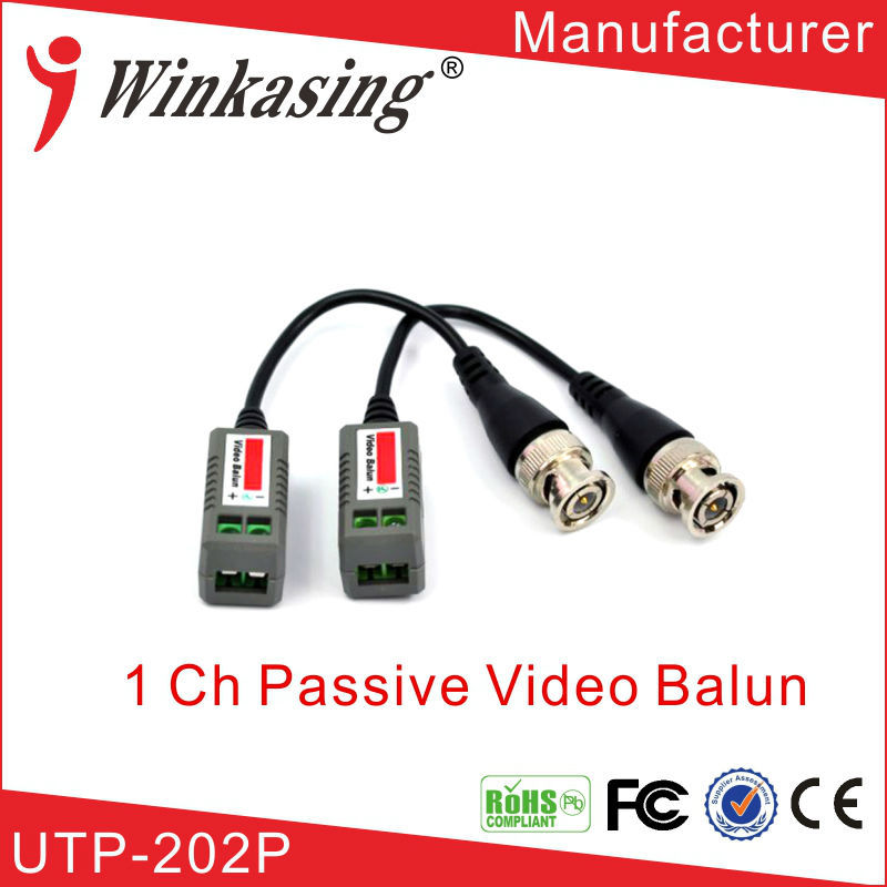 high quality video balun ,cctv camera video balun by RJ45 cable