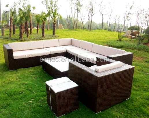 Cheap and high quality PE rattan wicker outdoor furniture