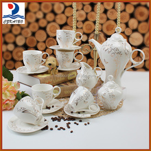 Factory directly selling 17PCS porcelain tea set with excellent quality
