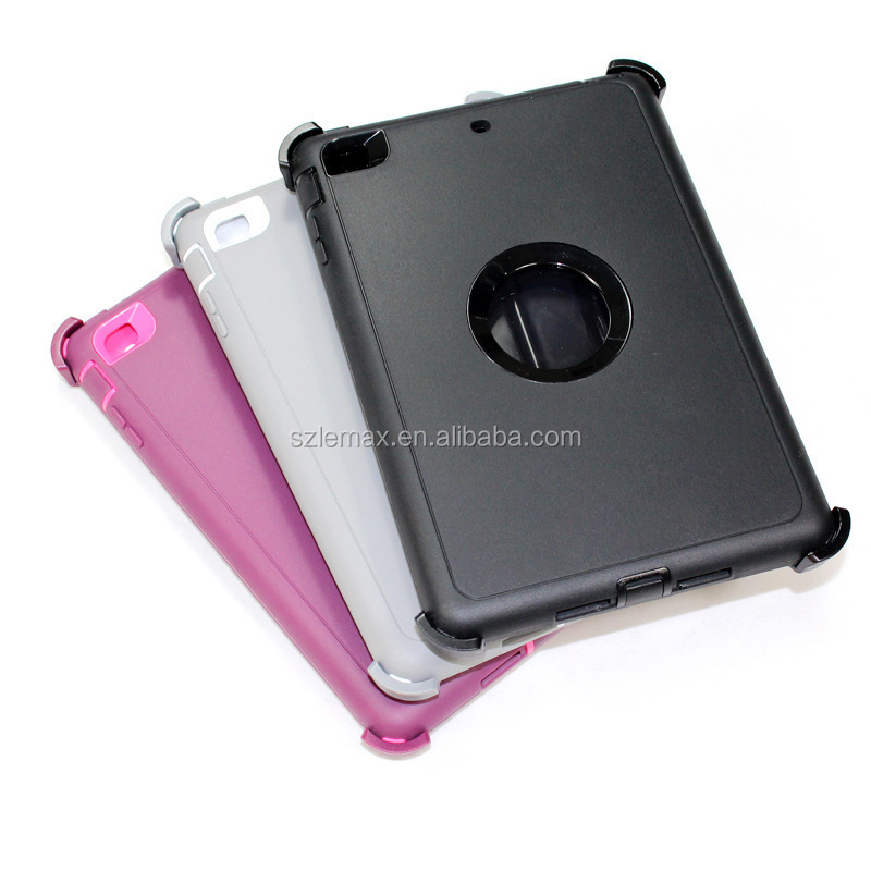 High quality otterboxing defender full protective case cover for ipad 2 3 4 5 6 i pad mini 1 2 3 4 for ipad air 1 2 pro 12.9