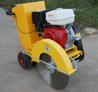 honda engine road cutter, concrete cutting machine