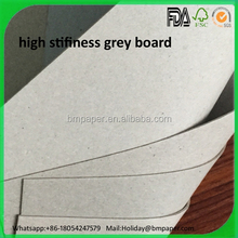 Waste Paper Making Recycle Grey Carton Board / Raw Paper Material Grey Back Paper