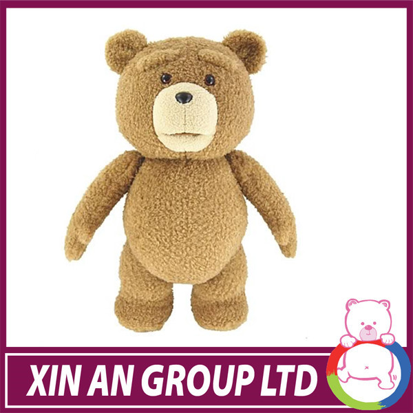 high quality stuffed teddy bear embroidery stuff toy cheap plush toy