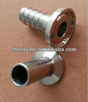 sanitary stainless steel hose ferrule ss304/316L 3A manufacturer