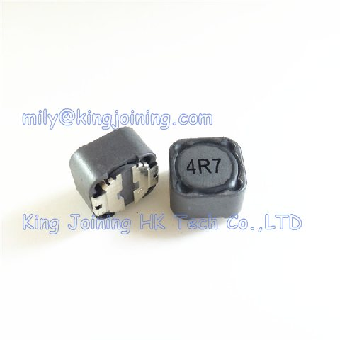 SMD Power Inductor 12 * 12 * 7mm CDRH127 <strong>127</strong> 4.7uH 6.8A CDRH127-4R7M Shielded Inductor CD127 12x12x7mm 10pcs/lot