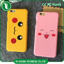 Promotional accessories solid candy color pokemon hard plastic case for iphone 5 smart phone