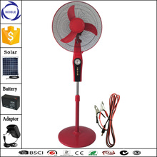 home appliances motor 12v dc solar stand fan wth plastic blade