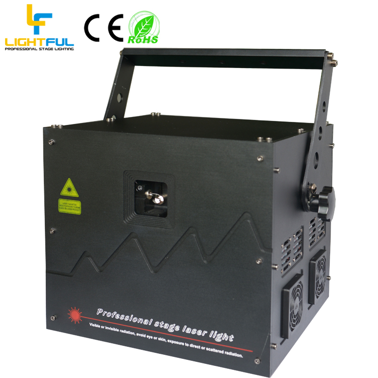 10W high power green laser light outdoor CNI with free quickshow software