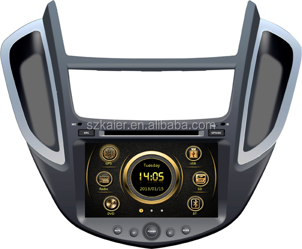 High definition wince car radio for Chevrolet TRAX with GPS/Bluetooth/Radio/SWC/Virtual 6CD/3G internet/ATV/iPod