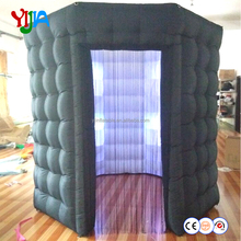 2 doors LED wedding octagon photo booth with roof
