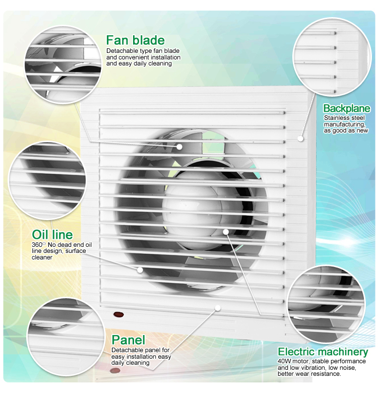 Bathroom Ventilation Fan (KHG10-S)