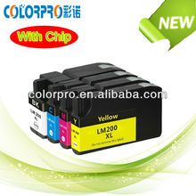 2013 best selling products made in china compatible for lexmark 200XL ink cartridge