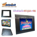 19 Inch RS232 High Resolution IR Open Frame waterproof touch screen monitor For Advertising ATM Karaok POS