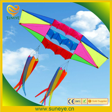 8ft 3D Radar Power Stunt kite single line Toys outdoor fun Sports stereo with flying line
