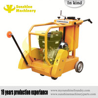 sunshine machinery walk behind gasoline robin honda electric asphalt floor road used cutting saw machine concrete cutter