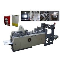 automatic recycled paper shopping bag making machine