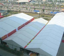 High quality aluminium hard wall 20x40m large temporary warehouse tent