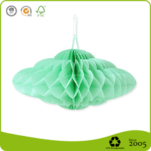 Lovely Cloud shape Honeycomb Ball Paper crafts