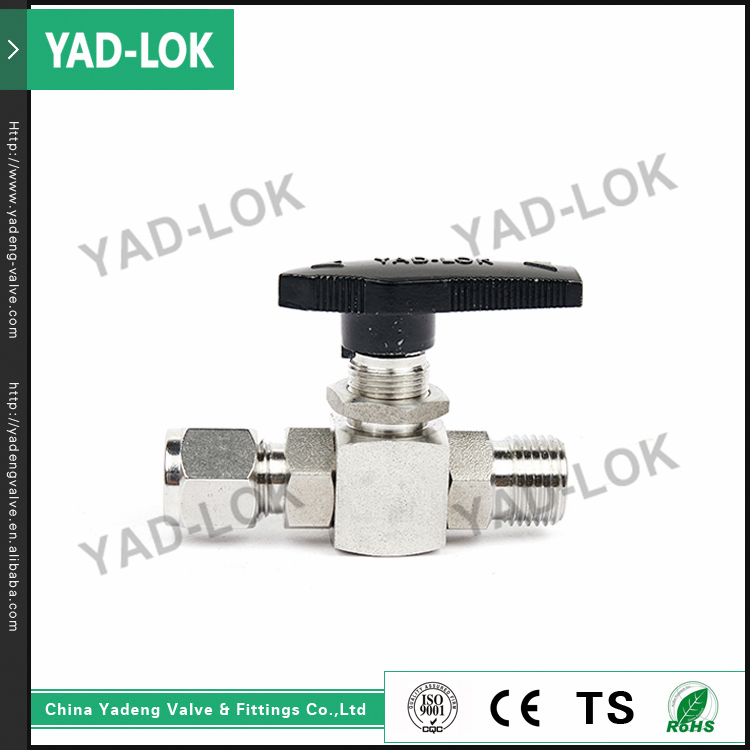 YAD-LOK Hydraulic Female & Male Threaded Stainless Steel High Pressure Ball Stop Valve