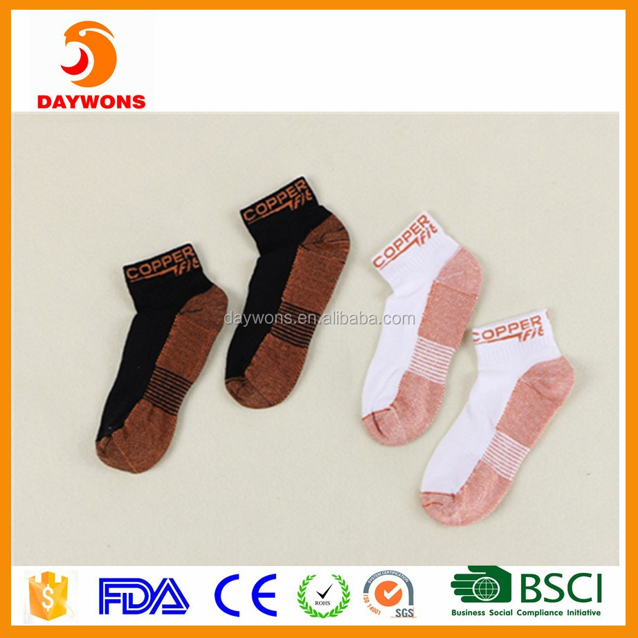 2017 Amazon Hot New Plantar Fasciitis Comopression Socks Breathable Tube Socks
