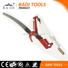long handle telescopic tree pruner with pruning saw and shear