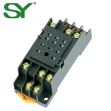 China Factory made Industrial appliance supply 11 pin Mini Electrical Relay Base Socket