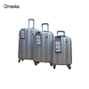 High quality vintage luggage with wheel 20'' 24'' 28'' hardshell PC/ABS trolley luggage case spinner hardside luggage set