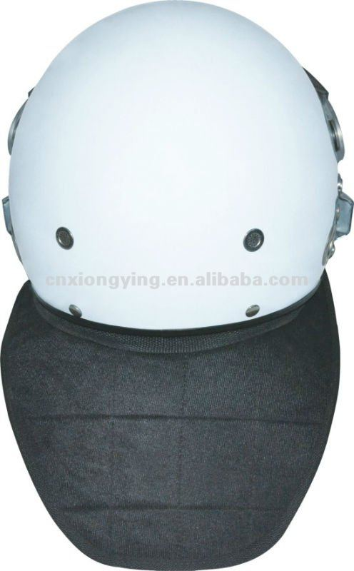 Full Protection French Style Anti-riot Helmet with Mask/anti riot helmet with anti fog visor