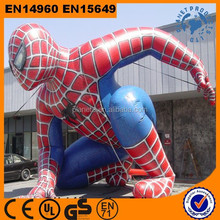 High Quality Giant Advertising Promotional Inflatable Spiderman