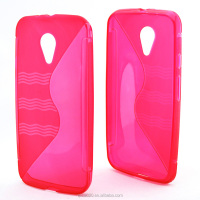 hot sale S style TPU phone CASE for MOTO G (2014)G 2nd/XT1068/XT1063/