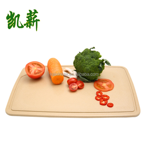 Kitchen High quality Rice husk cutting board set/ Wooden bamboo Chopping Board