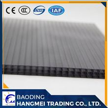 unbreakable hollow polycarbonate sheet/polycarbonate flooring twin/triple layer PC R/H/X structure
