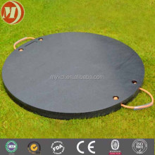 custom made high pressure resistance uhmwpe plastic foot mat/temporary road mat for concrete pump any type of aerial equipment