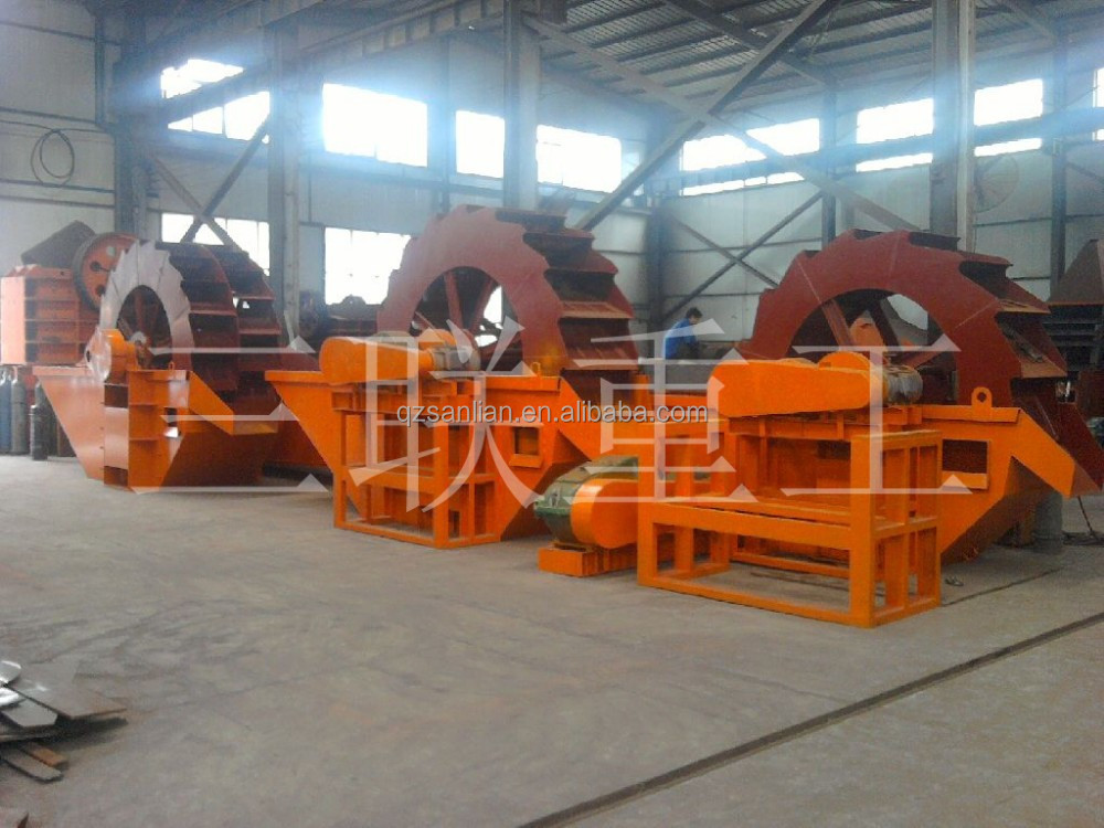 Sand washing machine screw sand washing machinery