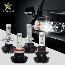 Super Bright Car Accessories 25W 9007 H4 Plug And Play Led Headlight Bulb