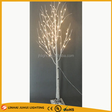 white led christmas tree lights, LED tree in birch 96L/2.1M