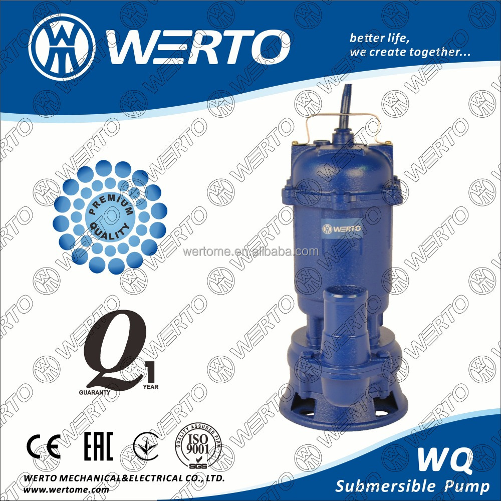 2 inch sewage submersible pump WQD550 non-blocking