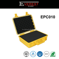 IP67 Protective hard plastic carrying cases With Foam Insert