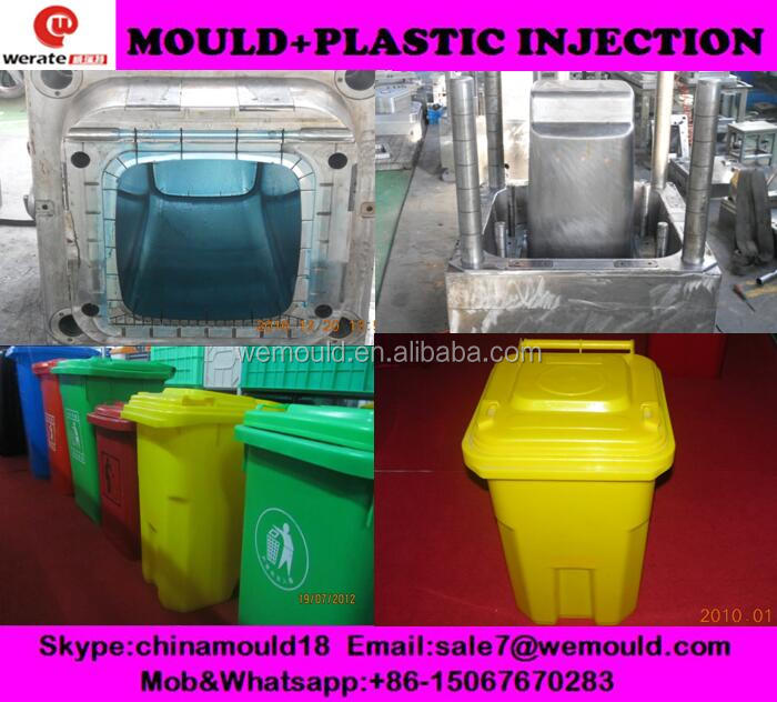 factory directly produce plastic injection dustbin mould