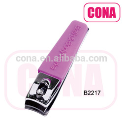 Customized color coating nail clipper